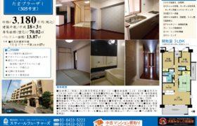 10/31 更新 グランシティたまプラーザⅠ 305号室