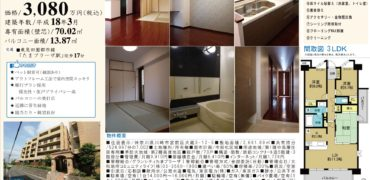 2/5 更新 グランシティーたまプラーザ305号室