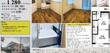 3/10 新規 テラス東馬込207号室