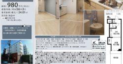 6/11 更新 カーサ大島123号室