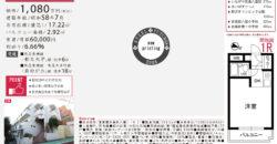 11/30 更新 ソアール都立大学104号室