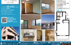 9/26 新規 賃貸 アルハンブラ尾山台201号室
