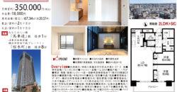 6/8  更新 ザ・タワー横浜北仲2916号室